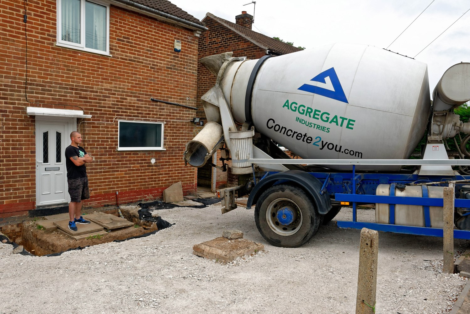 Concrete Mixer Truck Dimensions | Concrete2you